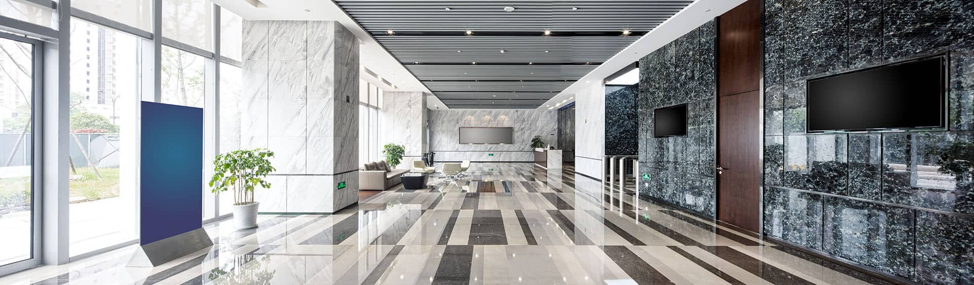 New York City Hallway Remodeling, Building Lobby Remodeling and Stairway Remodeling